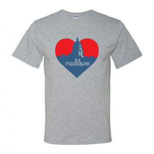 Madlove Tee M Athletic Heather