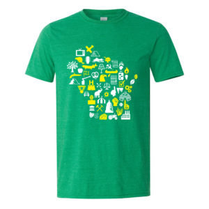 Storytime Tee M Gildan Heather Irish Green