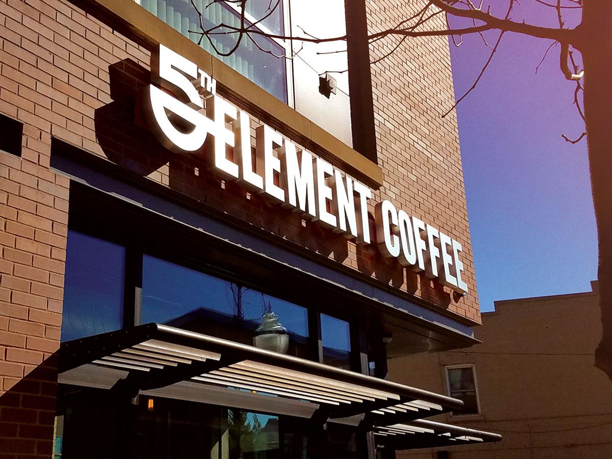5th Element Logo Design and Branding