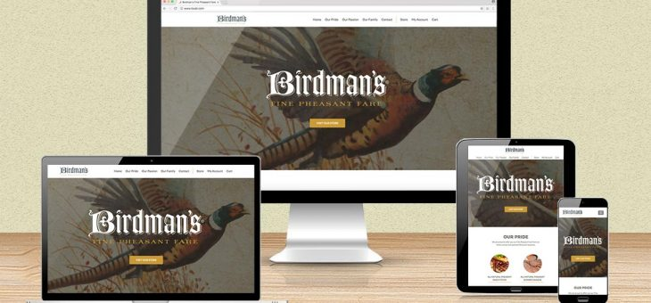 Birdman's Website Redesign