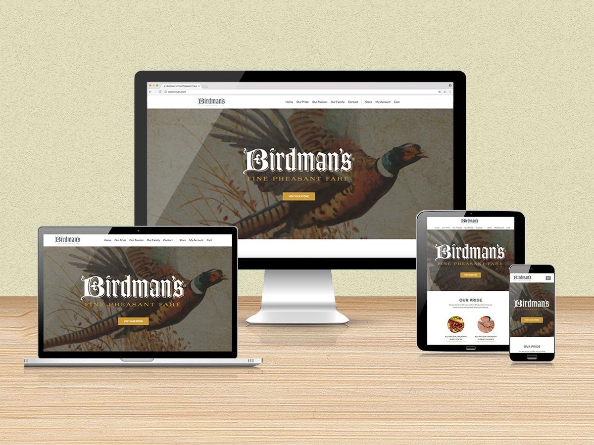 Birdman's Website Redesign